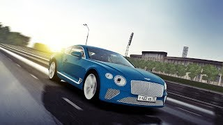 City Car Driving - Bentley Continental GT 2018 6.0 W12 | Cinematic | Custom SOUND | 1080p & G27