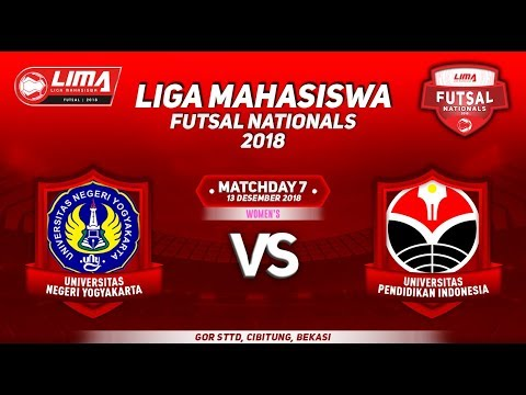 UNY VS UPI WOMENS LIMA FUTSAL NATIONALS 2018