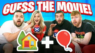 Guess the movie using ONLY EMOJI'S Ft. CouRage, Nadeshot, BrookeAB and Enable!