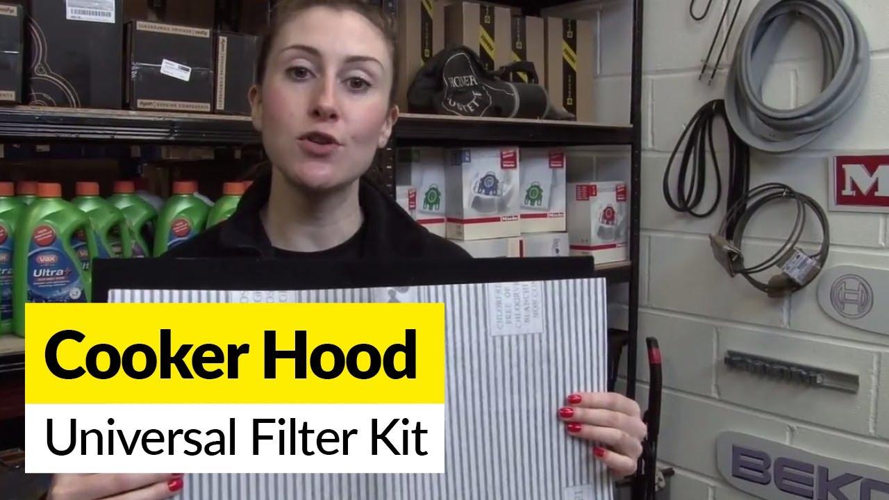 Hood Grease Filter Universal Cooker Hood Filter Kit Youtube