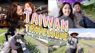 Taiwan Vlog Day 5: Making Our Own Spring Onion Pancake, Yilan Night Market | Tha