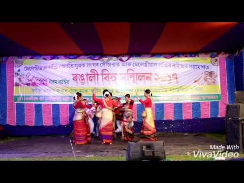 Dipor bilote jakoi marute dance by rupohi nasoni group Duliajan
