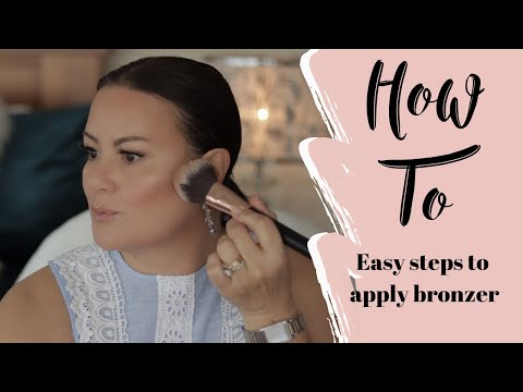 How to Apply Bronzer - Makeup for Beginners | Mature Skin