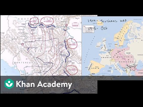 Serbian and Macedonian fronts | The 20th century | World history | Khan Academy