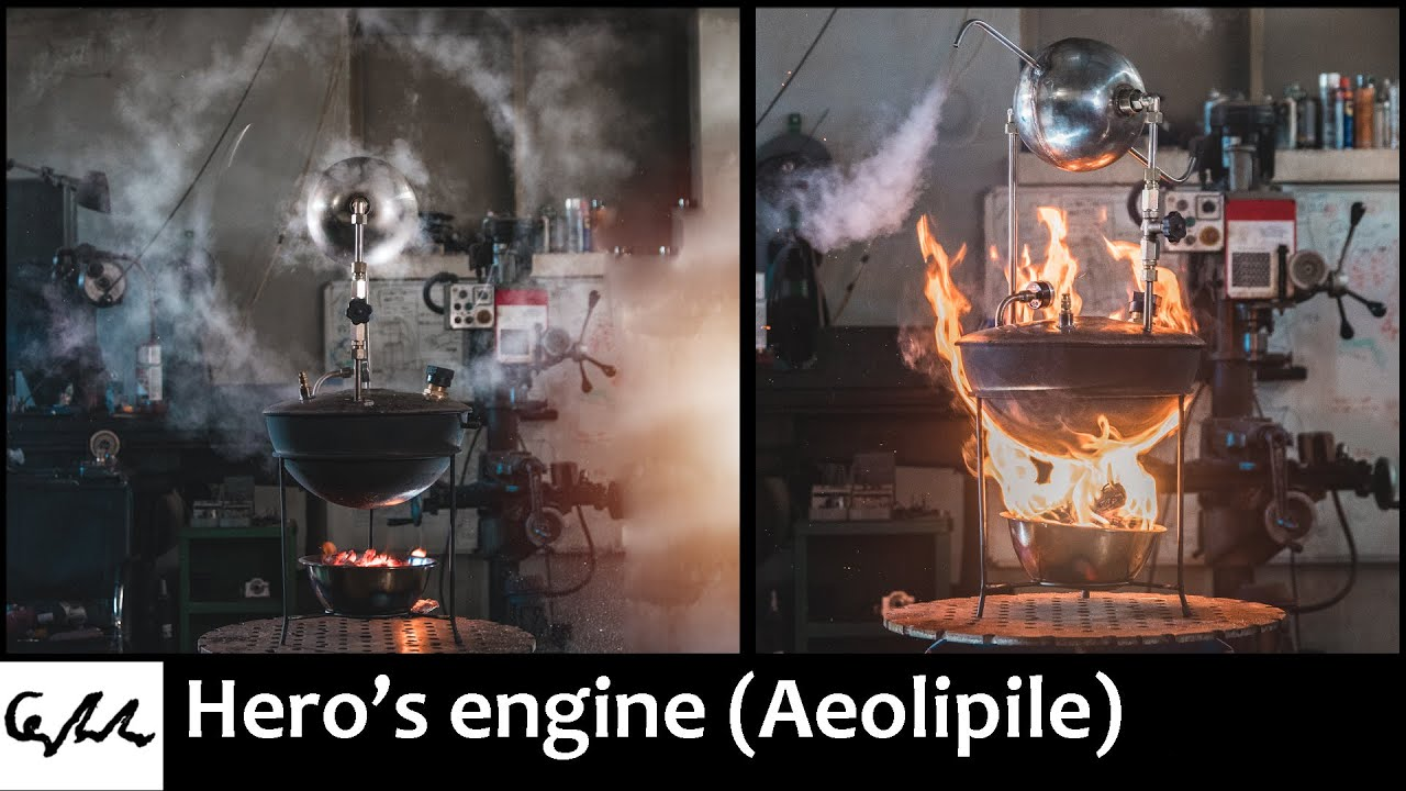 Making the Hero's engine replica
