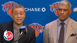 Knicks brass is not happy with 2-8 start to the season | NBA Sound