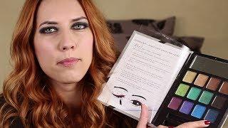 Líčení s paletkou E.L.F. Beauty Book Glitter Eye