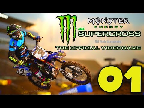 MONSTER ENERGY SUPERCROSS (FR) - 01 - MODE CARRIÈRE | PS4 PRO