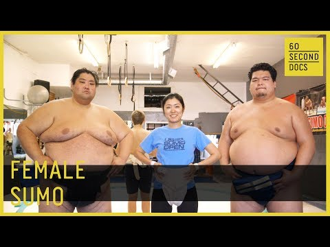 Female Sumo Wrestler // 60 Second Docs