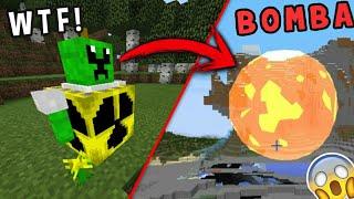 Hice un Creeper con una Bomba Nuclear en Minecraft 1.2 | Bomba Atómica Mortal! ( Creeper Mejorado)