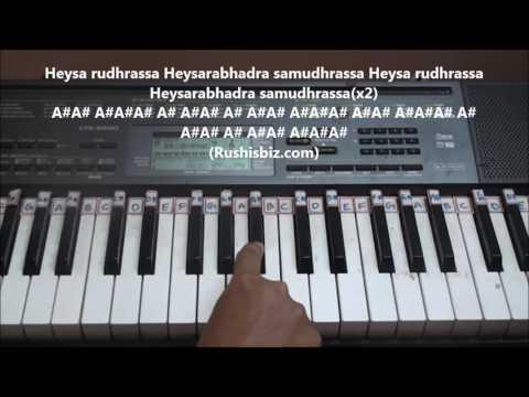 Saahore Baahubali (Title Song) Piano Tutorials - Telugu | DOWNLOAD NOTES FROM DESCRIPTION