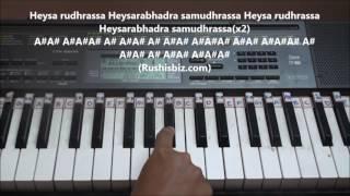 Saahore Baahubali 2 (Title Song) Piano Tutorials - Telugu