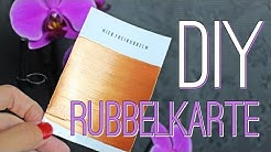DIY #2 - RUBBELKARTE | DESIGN YOUR OWN SCRATCH CARD