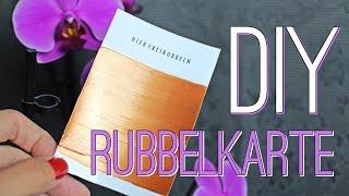 DIY #2 - RUBBELKARTE | DESIGN YOUR OWN SCRATCH CARD