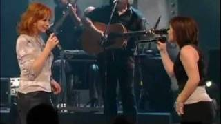 Reba McEntire  and Kelly Clarkson Live   Fancy