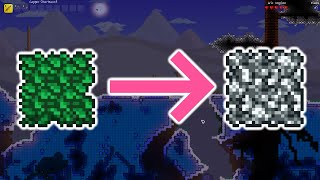 Terraria but the bl๐cks are inverted... (1/2)