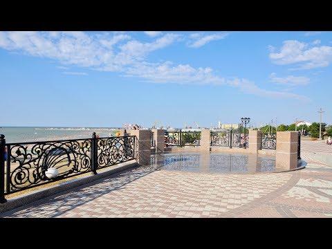 Ейск: детский пляж Меляки, ул. Победы