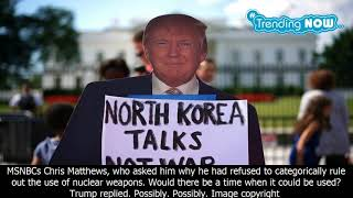 Donald trump's nuclear fixation - from the 1980s to now - bbc news - Trending Now