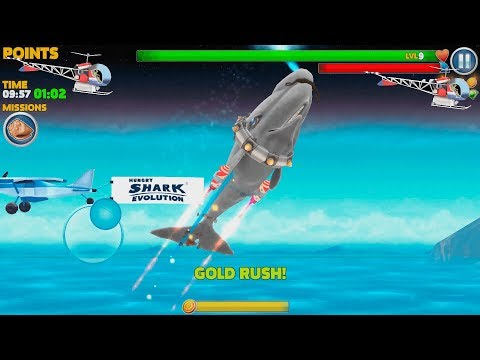 Hungry Shark Evolution Moby Dick Android Gameplay #20