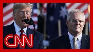Trump pressed Australia to help investigate Russia probe origin, source says
