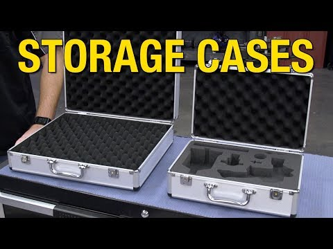 Universal Storage Cases For Paint Guns, Electronics & More! Padded & Lockable Cases At Eastwood