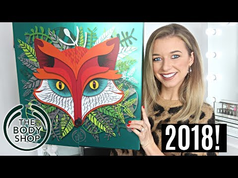 THE BODY SHOP ADVENT CALENDAR 2018 | *WORTH IT?*