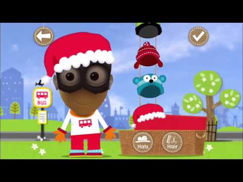 Wheels on the Bus | Nursery Rhymes | London Bus | School bus | Create your own driver| + puzzles