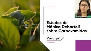 Dra. Mônica Debortoli explica a rotação de grupos químicos com Carboxamidas