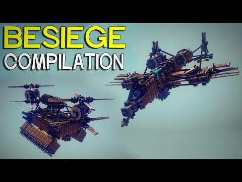 how to build a flying machine in besiege