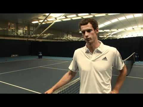 Andy Murray's Tennis Football