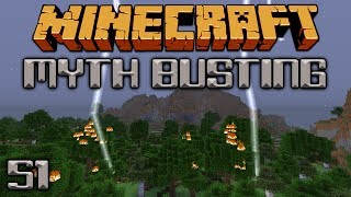 How Does Lightning Affect Mobs? [Minecraft Myth Busting 51]