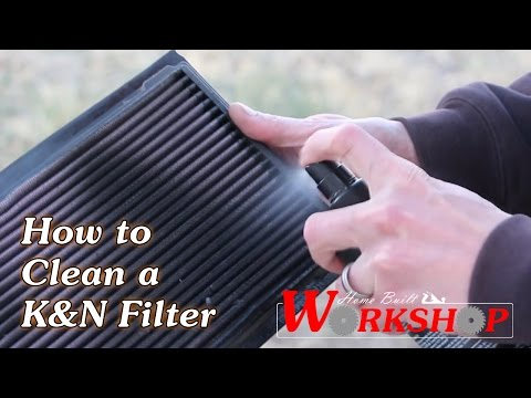 How to Clean a K&N Air Filter