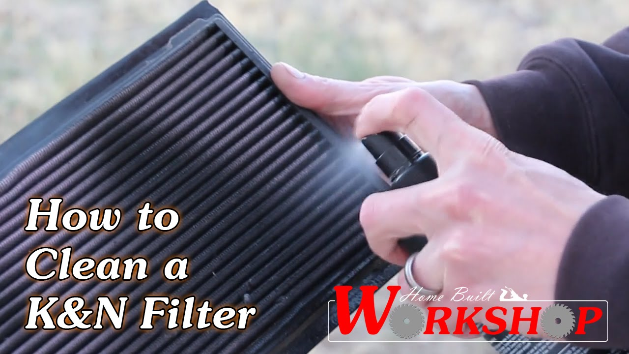 Clean Air Filter >> How To Clean A K N Air Filter Step By Step Simple Easy