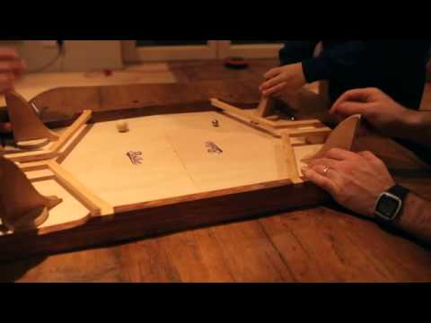 Rollet The Fast Rolling Ricochet Game YouTube Gorgeous Rollet Wooden Game