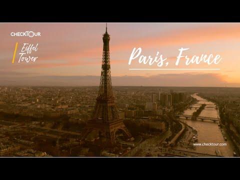 Paris France กรุงปารีส ฝรั่งเศส ภาพวิดีโอมุมสวยๆ เมืองปารีส