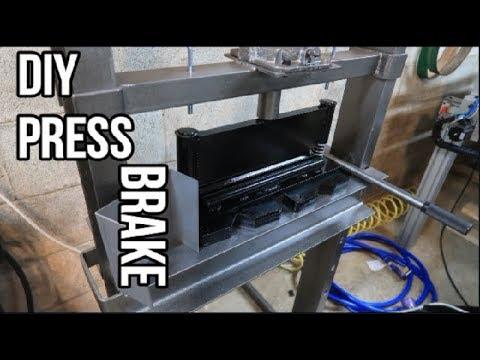 The DIY Press Brake: Home Mfg. Days #60