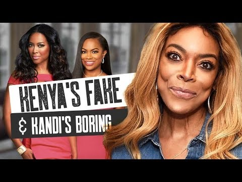 Wendy Williams Slams RHOA Season 10 Stars: Kenya Moore Is Fake & Kandi Is Boring