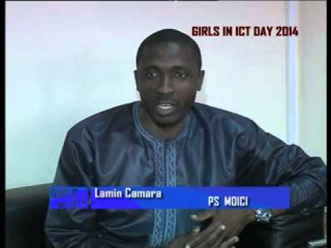 Girls in ICT 2014 (Gambia Video)