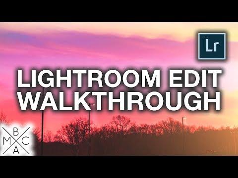 LIGHTROOM WALKTHROUGH: Start-To-Finish Instagram Edit! 📸
