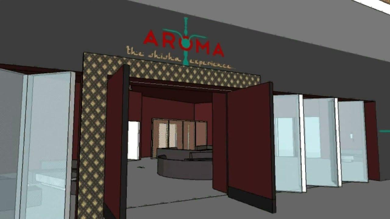 Shisha Lounge London Design Animation - HAD (Preview) - YouTube