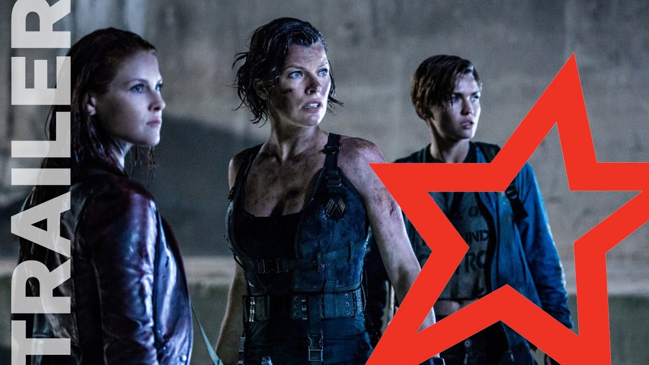 Resident Evil: The Final Chapter Official Trailer