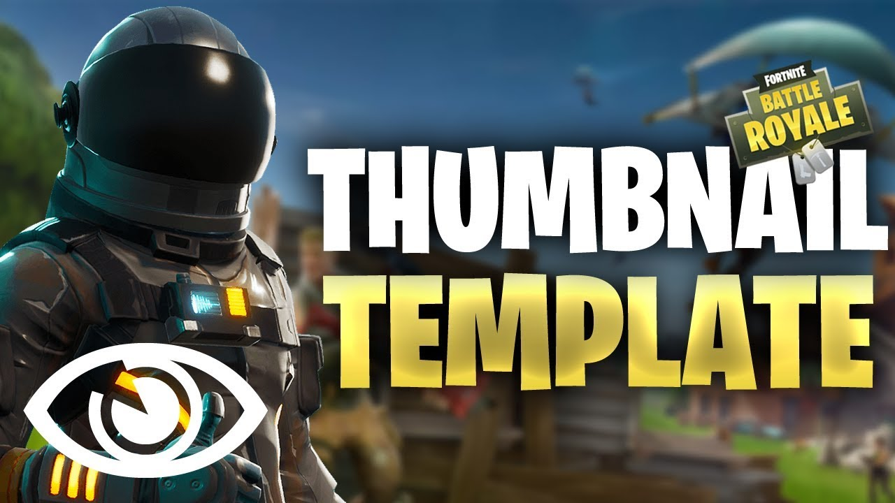 Battle Royale Fortnite 2 Psd Photoshop Thumbnail Graphics No Copyright Media Free Download