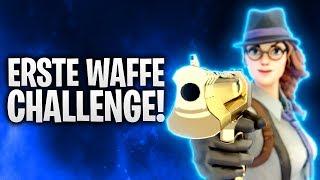 ERSTE WAFFE CHALLENGE! ☢️ | Fortnite: Battle Royale