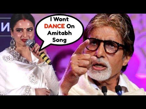 Rekha INSULTS Amitabh Bachchan At IIFA Press Conference 2018