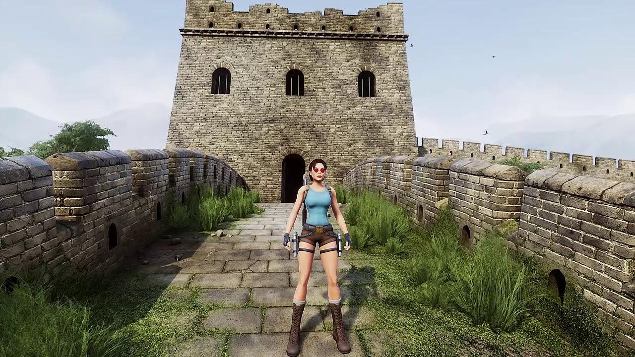 A Quick Look At Tomb Raider 2 Dagger Of Xian Remake Demo