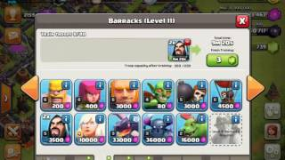 Looking at What will be the old training system in Clash of Clans