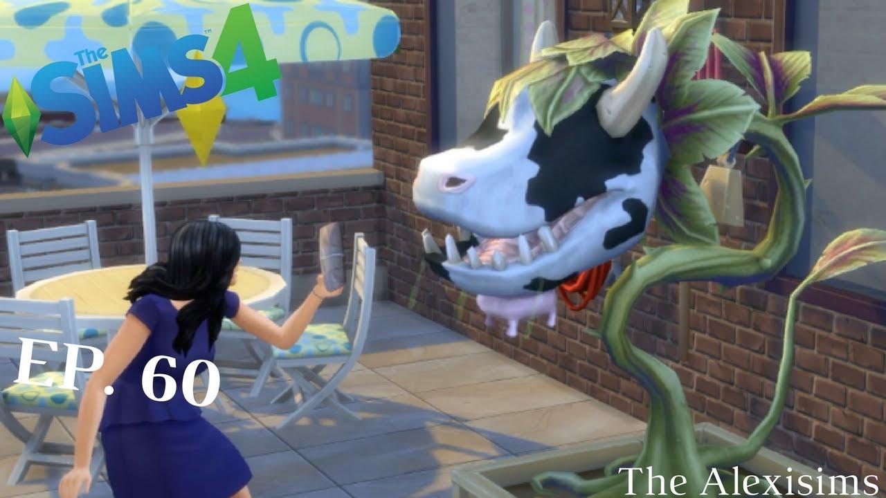 Piante Strane Da Appartamento the sims 4 - una pianta mucca da appartamento - ep. 60 - gameplay ita