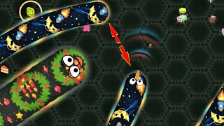 Wormate.io Pro Hacker Tiny Worm Vs Monster Worms Epic Wormateio Gameplay (Funny/Best Moments)