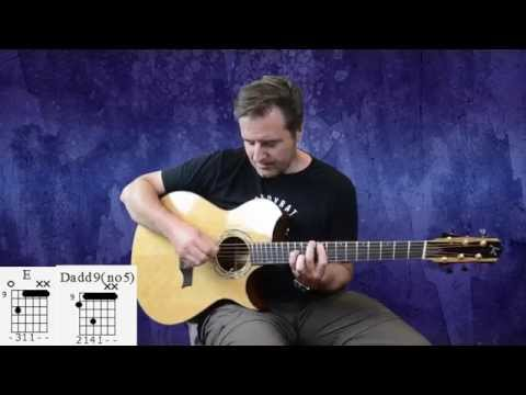 John Mayer - Bigger Than My Body(Acoustic) Guitar Lesson With TAB