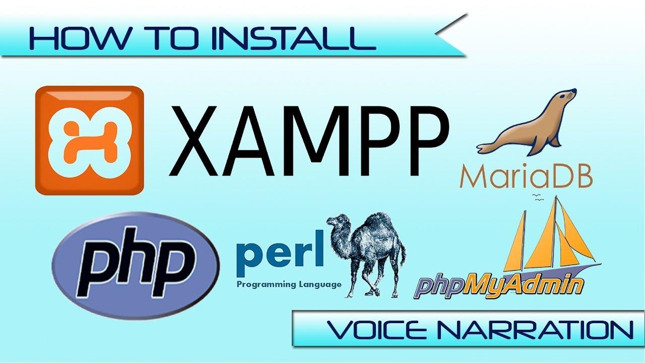 INSTALL XAMPP for Windows 10 64 bit | Configure XAMPP for mysql database in  5 MIN (2019)